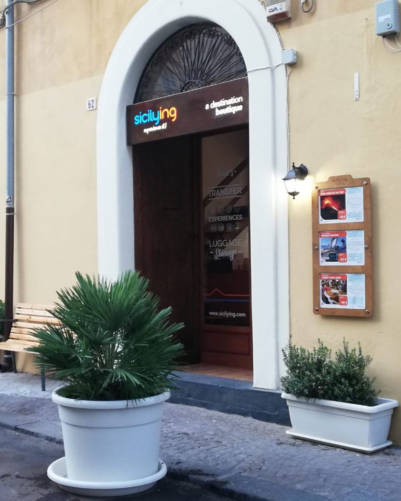 Luggage storage Catania location